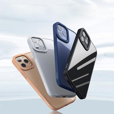 아이폰XR XS MAX 컬러 테두리 범퍼 투명 하드 케이스