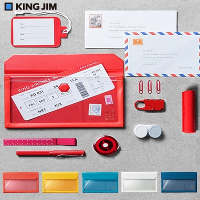 킹짐 마그네틱 투명 백인백 FLATTY-봉투 Size 5362