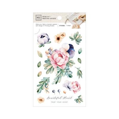 Miccudo 프린팅 스티커 (5. Wedding Bouquet)