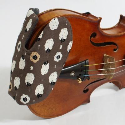 바이올린 핸드메이드 턱받침 커버 E-모델 No37