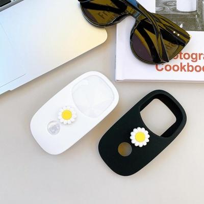 애플 매직마우스 1/2 플라워 실리콘 보호 커버 케이스