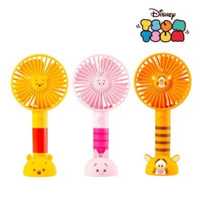 [디즈니 썸썸] USB핸디 미니 선풍기 푸우 티거 피글