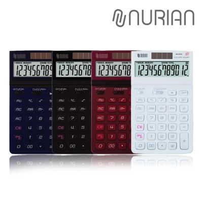 누리안 NR-805 컬러계산기 12자리 계산기