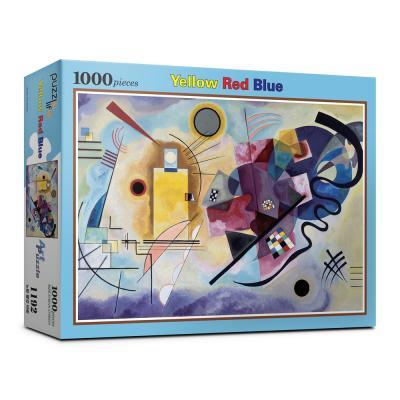 1000피스 노랑빨강파랑 직소퍼즐 PL1192