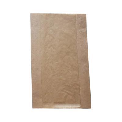 줄무늬크라프트창봉투 특대 100매 (18x6x30)