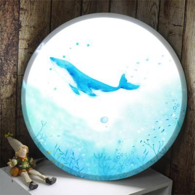 na779-LED액자45R_바닷속고래