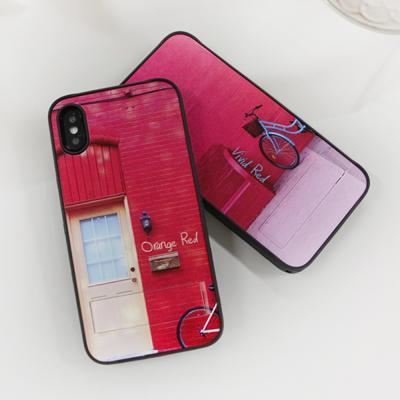 COLOR IS RED 01 스피릿케이스-디자인커버+바디세트