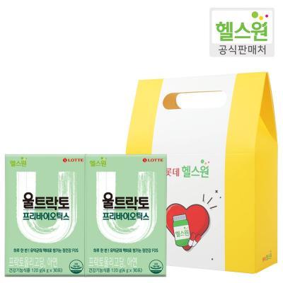 [헬스원] 울트락토 프리바이오틱스 2개 선물세트