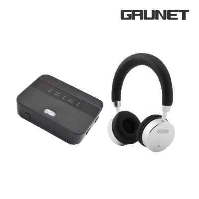 가우넷 블루투스 송수신기 헤드폰 세트 TR01 + H68N