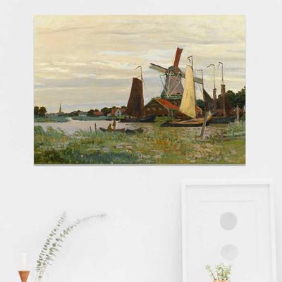 주문제작 액자 Monet Un Moulin A Zaandam 841x594x30