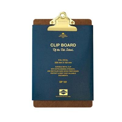 펜코-DP161-CLIPBOARD O/S A5-GOLD CLIP