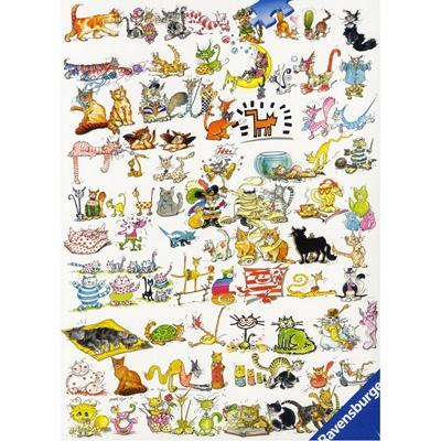 1000조각 직소퍼즐▶ 101마리 고양이 (RA19391)