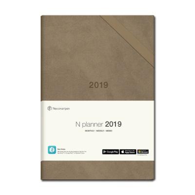 [네오스마트펜 호환] N플래너 2019 (베이지)