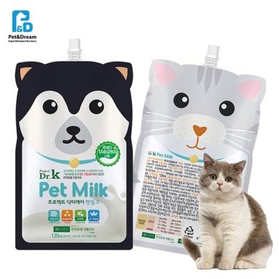 애묘 고양이 전용 우유 펫 밀크 120ml 닥터케이