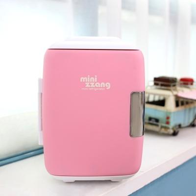 4리터 미니냉장고 소형냉장고 온장고 mz-04 핑크