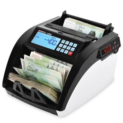 [현대오피스] 지폐계수기 V-400UV 위폐감별 계수기