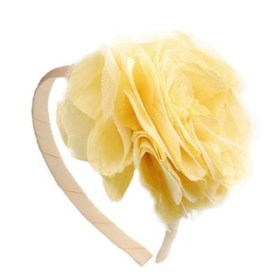[헤어보우]Lobelia 헤어밴드-Yellow