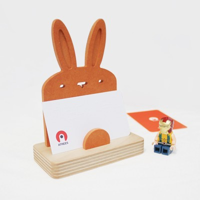 Business Card Holder-Rabbit 토끼모양 명함꽂이
