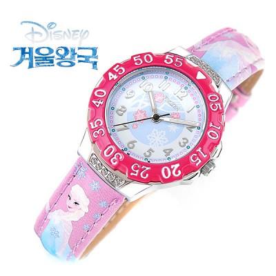 [Disney] 디즈니 겨울왕국 엘사-3 캐릭터 아동용 시계 [본사정품]