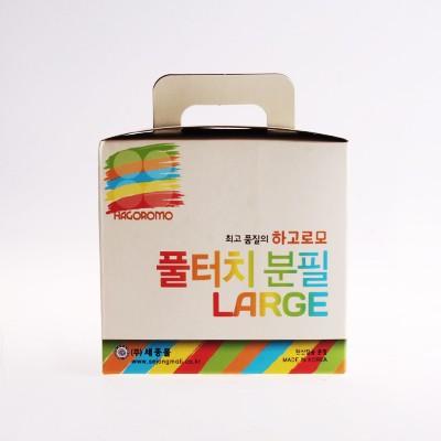 하고로모 분필 - 탄산라지 빨강 1통 15(本)