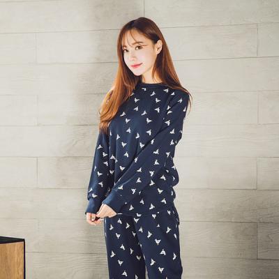 [쿠비카]씨걸 쭈리면 투피스 여성잠옷 W113