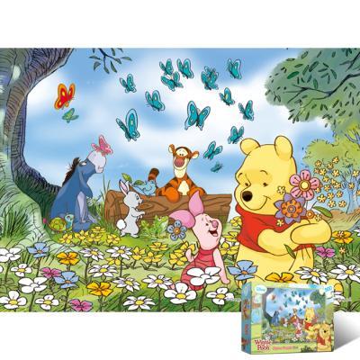500피스 직소퍼즐 곰돌이 푸우 꽃밭에서[PL514D]
