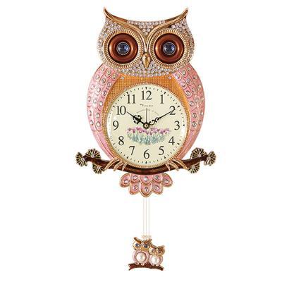 인테리어 SHINE OWL 벽시계 추 골드CH1582866
