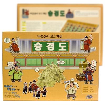 (사회 보드게임)승경도 (조선시대 벼슬살이 전통게임)