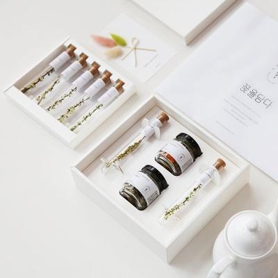 [꽃을담다] 2019 추석 명절 꽃차선물세트+쇼핑백