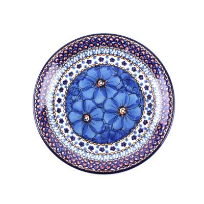 리넥 폴란드그릇 아티스티나 유니캇 원형접시 21cm