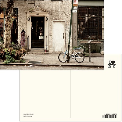 I LOVE NEW YORK (Post card ver.01) - New york 019