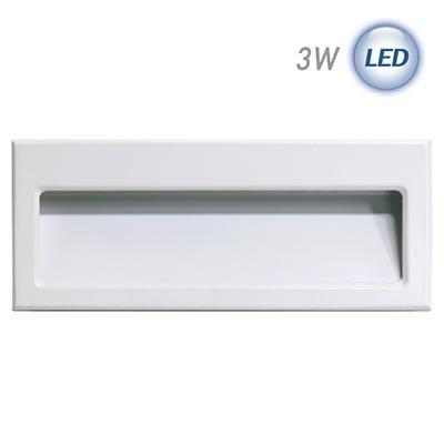 LED 사각 계단매입 3W (화이트) (실내용)