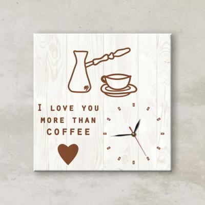 cx456-커피보다사랑_노프레임벽시계