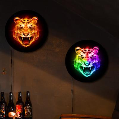 nh262-LED액자25R_풍수빛나는호랑이얼굴