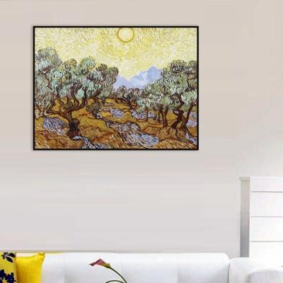 [THE BELLA] 고흐 - 노란 하늘과 태양 아래의 올리브 나무들 Olive Trees with Yellow Sky and Sun
