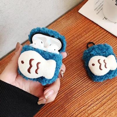 에어팟프로 3세대 붕어빵 털케이스 키링_피쉬 429/PRO