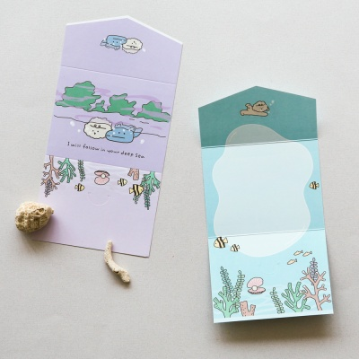 미니 폴딩 카드 (마이 버디) 01-04