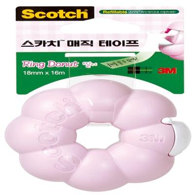 3M 스카치™ 매직 테이프 링도넛 디스펜서