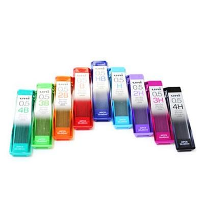유니 나노 다이아 덜 닳는 샤프심-0.5mm(H/HB/B/4B/2H/2B)