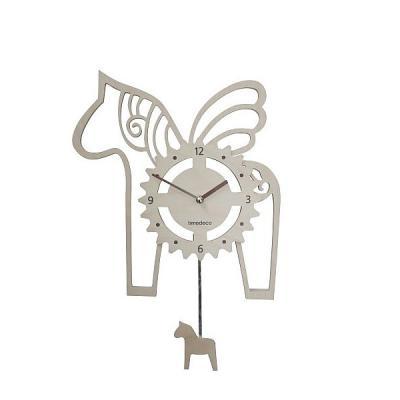 타임데코 내츄럴 목마 추벽시계 TD-목마(오픈형)