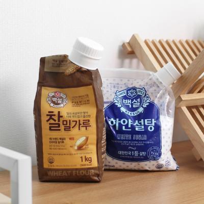 모든 비닐 폴리백을 밀폐용기로 아이디어 밀봉 실링캡