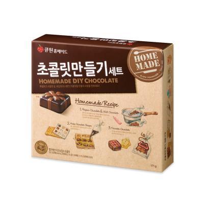 큐원 초콜릿만들기 세트 170g