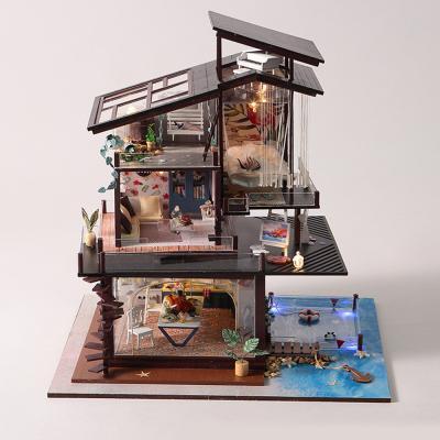DIY 미니어처 풀하우스 - 발렌시아 해변