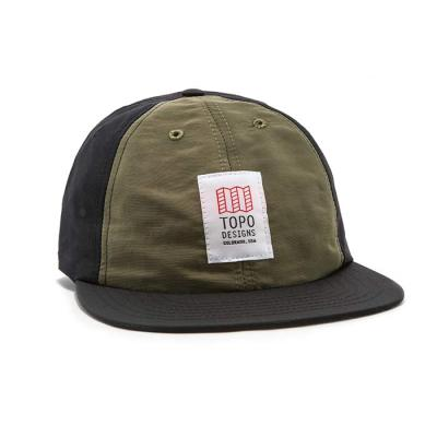 토포디자인 NYLON BALL CAP OLIVE/BLACK TDNBC015