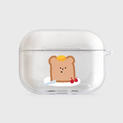 gummy toast [airpods pro clearcase]