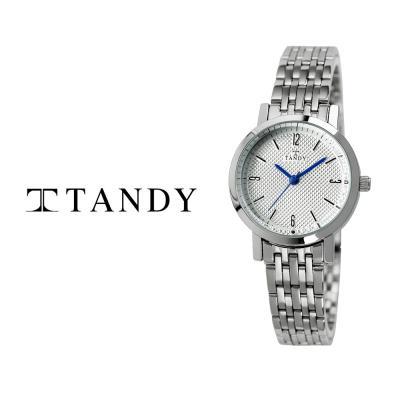 탠디 클래식 커플 메탈 손목시계 T-3705 여자 화이트