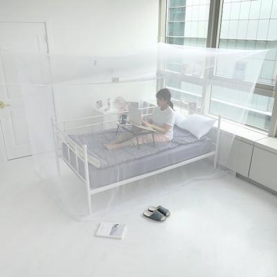 모기차단 침대 간편설치 다인용 사각 모기장텐트 중형