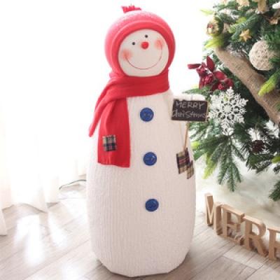 길쭉이 칠판픽 눈사람(80cm)