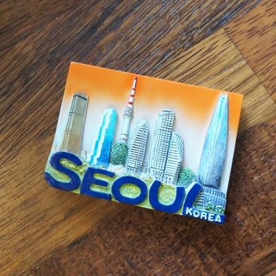 냉장고자석. 서울빌딩