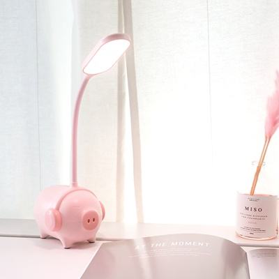 레토 충전식 무선 LED 돼지 무드등 LML-PG07H